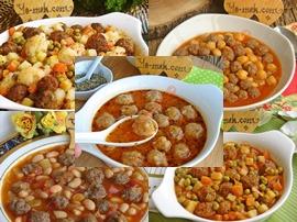 Sebzeli Sulu Köfte Yemekleri