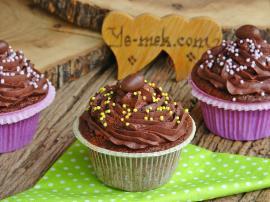 Çikolatalı Islak Cupcake