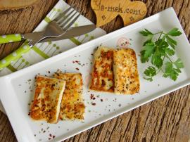 Baharatlı Hellim Peyniri Kızartması