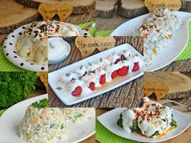 3 Kaşık Yoğurt İle Yapabileceğiniz 10 Değişik Yoğurtlu Meze Tarifi