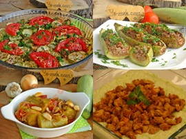 Patlıcan Yerine Kabak İle Yapabileceğiniz Ana Yemekler