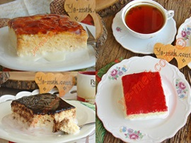 Üç Sütlü, Yumuşak Kekli Balkan Tatlısı : Trileçe