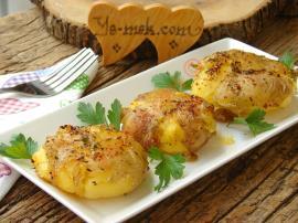 Fırında Baharatlı Çatlak Patates