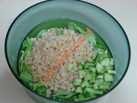Yoğurtlu Buğdaylı Semizotu Salatası