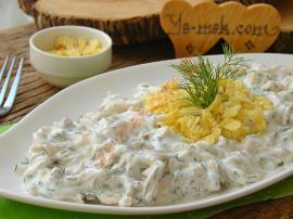 Chicken Salad With Yogurt And Chips Recipe