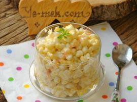 Bardakta Peynir Soslu Mısır Nasıl Yapılır?