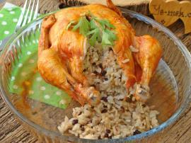 Lokum Gibi Eti İle İçinin Pilavının Güzelliğine Hayran Kalacaksınız :  İç Pilavlı Tavuk Dolması