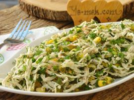 Yeşillikli Tavuk Salatası Nasıl Yapılır?