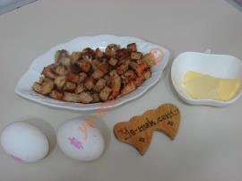 Fırında Kıtır Ekmekli Yumurta