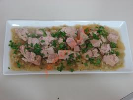 Köz Patlıcanlı Ton Balığı Salatası