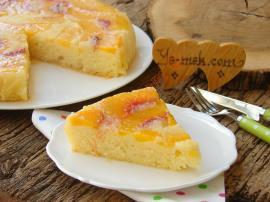 Şeftalili Alt Üst Kek Nasıl Yapılır?