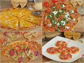 İncecik Hamurlu Bol Malzemeli 5+ Farklı Tortilla Pizza Tarifi