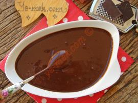 Ev Yapımı Çikolata Sosu