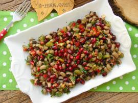 Narlı Kuru Börülce Salatası