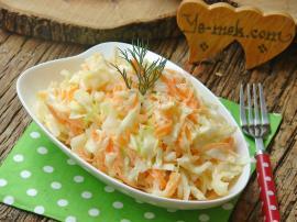 Coleslaw Salatası Nasıl Yapılır?