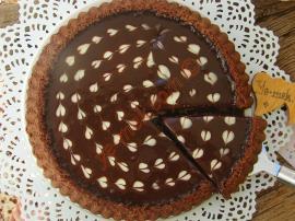 Ganajlı Çikolatalı Tart Kek Nasıl Yapılır?