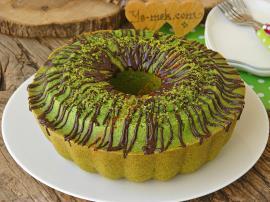 Görüntüsü Ve Rengi İle Şaşırtacak : Ispanaklı Kek
