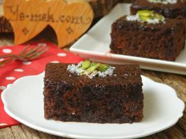 Browni Tadında : Bol Soslu Islak Kek
