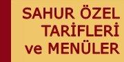 Sahur Tarifleri
