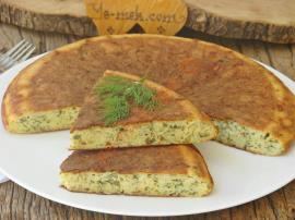 Peynirli Tava Keki