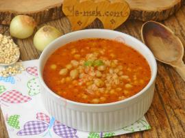 Salçalı Buğday Çorbası Nasıl Yapılır?