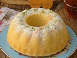 Tereyağlı Limonlu Kek