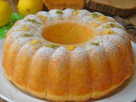Limonlu Pamuk Kek Nasıl Yapılır?