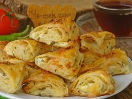 Peynirli Çıtır Üçgen Börek Nasıl Yapılır?