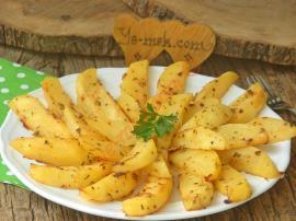 Fırında Yoğurtlu Patates Kızartması Nasıl Yapılır?