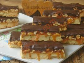 Marketlerde Satılan Hazır Snickerslara Taş Çıkaracak : Ev Yapımı Snickers