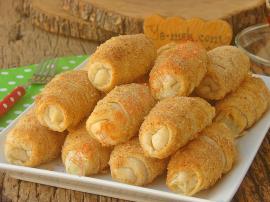 Hazır Yufkadan Peynirli Kruvasan Börek Nasıl Yapılır?