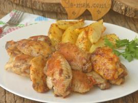 Tavada Tavuk Kanat