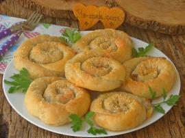 Patatesli Kıymalı Börek