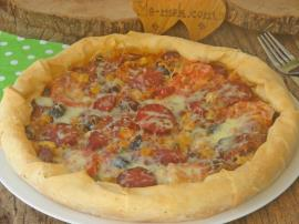 Yufkadan Pizza