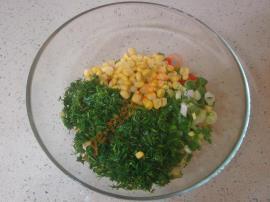 Közlenmiş Kırmızı Biber Salatası