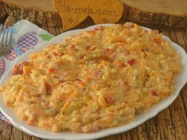 Köz Patlıcanlı Havuç Salatası