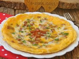 Sucuklu Omlet