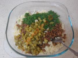 Yoğurtlu Mercimek Salatası