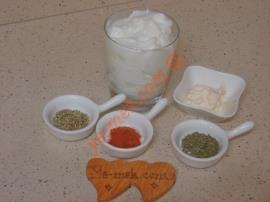 Yoğurtlu Mayonezli Sos