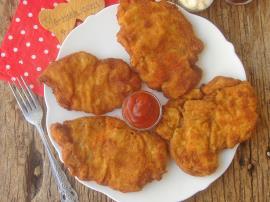 Sodalı Tavuk Şinitzel