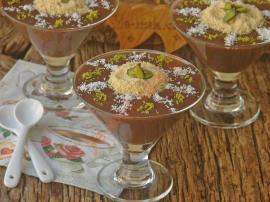 Kremalı Çikolatalı Puding