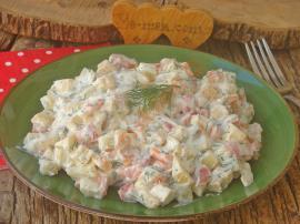 Kızarmış Patates Salatası