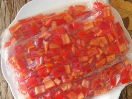 Buzlukta Kırmızı Biber Saklama Yöntemi