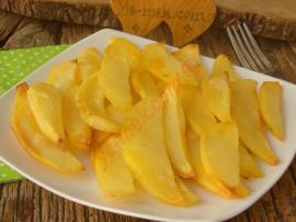 Fırında Tereyağlı Patates Kızartması