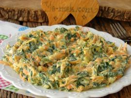 Havuçlu Pazı Salatası