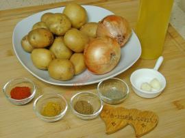 Soğanlı Patates Salatası