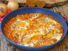 Yumurtalı Soğan Kavurması