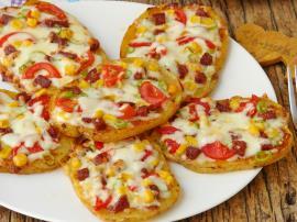 Hamursuz Pizza Dilimleri Nasıl Yapılır?