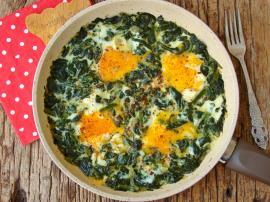 Ispanaklı Yumurta Nasıl Yapılır?