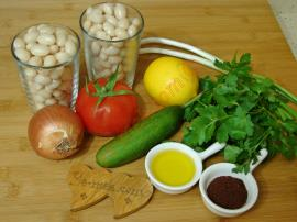 Kuru Fasulye Salatası